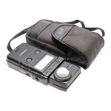 Minolta IV electronic flash meter used cased light exposure meter