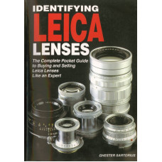 Identifying leica lenses book the complete pocket guide