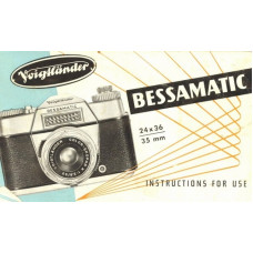 Voigtlander bessamatic 35mm camera instructions for use