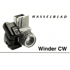 Hasselblad winder cw camera instruction manual