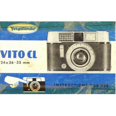 Voigtlander vito cl camera instructions